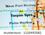 tarpon springs. florida. usa on ...   Shutterstock . vector #1120492082