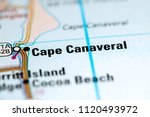 cape canaveral. florida. usa on ...   Shutterstock . vector #1120493972