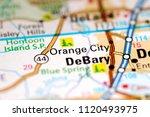 orange city. florida. usa on a...   Shutterstock . vector #1120493975