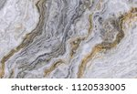 marble pattern with wavy gold... | Shutterstock . vector #1120533005