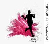 marathon runner  sport... | Shutterstock .eps vector #1120543382