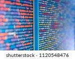 python programming developer... | Shutterstock . vector #1120548476
