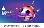 soccer vector illustration.... | Shutterstock .eps vector #1120549808