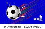soccer vector illustration.... | Shutterstock .eps vector #1120549892