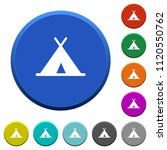 tent round color beveled... | Shutterstock .eps vector #1120550762