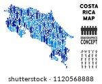 vector population costa rica... | Shutterstock .eps vector #1120568888