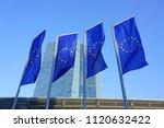 frankfurt am main  germany  9... | Shutterstock . vector #1120632422