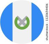 circular flag of guatemala   Shutterstock .eps vector #1120654406