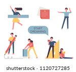 education characters holding... | Shutterstock .eps vector #1120727285