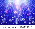 sparkling background with... | Shutterstock . vector #1120729016