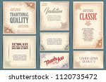 vector set for creating... | Shutterstock .eps vector #1120735472
