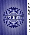 ambient with denim texture | Shutterstock .eps vector #1120759598