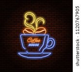 Neon Sign Coffee House.the...
