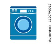 vector clothes washer... | Shutterstock .eps vector #1120790012