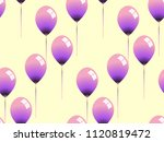 fantasy seamless pattern with... | Shutterstock .eps vector #1120819472
