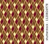 ikat pattern. seamless design....   Shutterstock .eps vector #1120826978