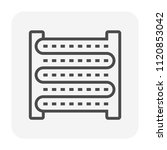 air condenser coil icon  64x64... | Shutterstock .eps vector #1120853042