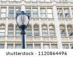 street light and beautiful... | Shutterstock . vector #1120864496