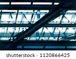 steel framework of industrial...   Shutterstock . vector #1120866425
