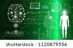abstract background technology... | Shutterstock .eps vector #1120879556