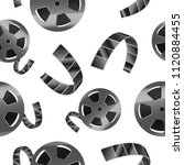 realistic detailed 3d reel of... | Shutterstock .eps vector #1120884455