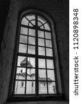 church in the window | Shutterstock . vector #1120898348