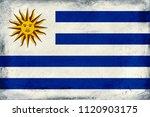 vintage national flag of...   Shutterstock . vector #1120903175