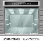 template for advertising 3d... | Shutterstock .eps vector #1120904948