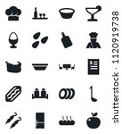 set of vector isolated black... | Shutterstock .eps vector #1120919738