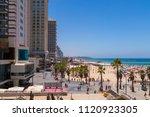tel aviv  israel   june 9  2018 ... | Shutterstock . vector #1120923305