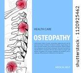 bones banner mock up.... | Shutterstock .eps vector #1120925462