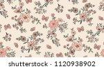 seamless vintage romantic... | Shutterstock .eps vector #1120938902