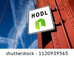 """cryptocurrency """"hodl"""" concept ... 