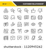 customer relationship management | Shutterstock .eps vector #1120945262
