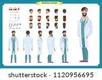 doctor man character... | Shutterstock .eps vector #1120956695