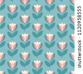 scandinavian geometric simple... | Shutterstock .eps vector #1120958555