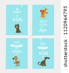vector set of motivating... | Shutterstock .eps vector #1120964795