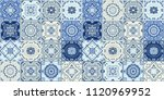 talavera pattern.  indian... | Shutterstock .eps vector #1120969952