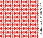 argyle red seamless pattern ... | Shutterstock .eps vector #1120977152