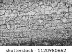 cracked earth background texture | Shutterstock . vector #1120980662