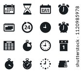 set of simple vector isolated... | Shutterstock .eps vector #1120985978