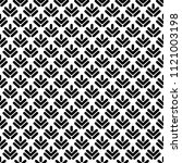 seamless pattern with black... | Shutterstock .eps vector #1121003198