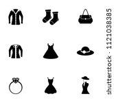vector fashion design... | Shutterstock .eps vector #1121038385