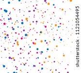 background of splash dot ... | Shutterstock .eps vector #1121054495