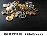symbol of crypto currency coin... | Shutterstock . vector #1121092838