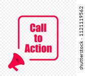 call to action message quote in ... | Shutterstock .eps vector #1121119562