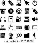 computer icons | Shutterstock .eps vector #112113635