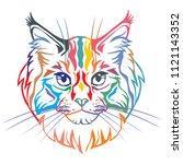 Colorful Decorative Portrait In ...