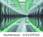 network and internet... | Shutterstock . vector #1121159222