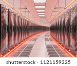 network and internet... | Shutterstock . vector #1121159225